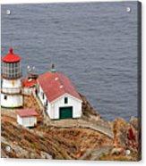 Point Reyes Lighthouse Ca Acrylic Print by Christine Till
