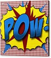 Pop Pow Acrylic Print by Suzanne Barber