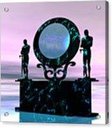 Portal Acrylic Print by Corey Ford