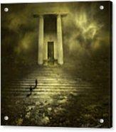 Portal Z Acrylic Print by Svetlana Sewell