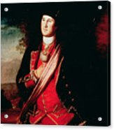 Portrait Of George Washington Acrylic Print by Charles Willson Peale