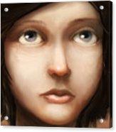 Portrait Of Vela Acrylic Print by Ethan Harris