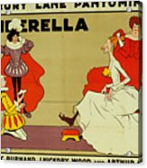 Poster For Cinderella Acrylic Print by Tom Browne