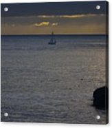 pr 237 - Evening Sail Acrylic Print by Chris Berry