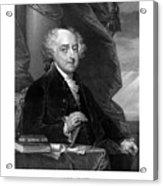 President John Adams Acrylic Print by War Is Hell Store