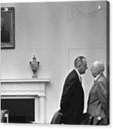 President Johnson Invading The Space Acrylic Print by Everett