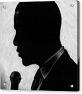 Presidential Silhouette Acrylic Print by Jeff Stroman