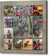 Print Collection French And Indian War Acrylic Print by Randy Steele