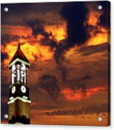 Purdue Bell Tower Acrylic Print by Purdue University