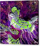 Purple Haze Acrylic Print by Ron Carter