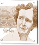 Rachel Carson Acrylic Print by John D Benson