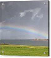 Rainbow, Island Of Iona, Scotland Acrylic Print by John Short