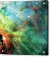 Rainbow Orion Nebula Acrylic Print by The  Vault - Jennifer Rondinelli Reilly