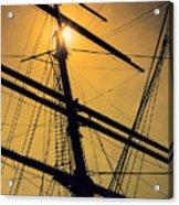 Raise The Sails Acrylic Print by Lauri Novak