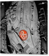 Rawlings In Red Acrylic Print by Jame Hayes