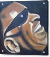 Ray Charles Acrylic Print by Toni Berry