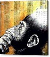 Reasoning Logical Mathematical Acrylic Print by Paulo Zerbato