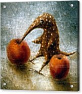 Red Apples Acrylic Print by Lolita Bronzini