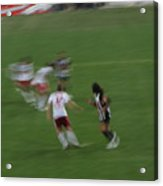 Red Bull Arena Opening Night Acrylic Print by Peter Aiello