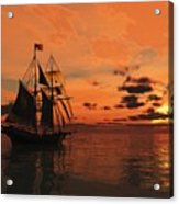 Red Sky At Night Acrylic Print by Timothy McPherson