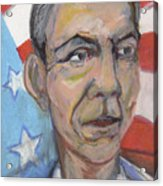 Reelecting Obama In 2012 Acrylic Print by Derrick Hayes