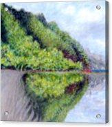 Reflection Acrylic Print by Kenneth Grzesik