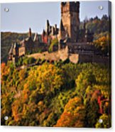 Reichsburg Castle Acrylic Print by Louise Heusinkveld