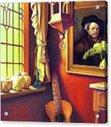Rembrandt's Hurdy-gurdy Acrylic Print by Patrick Anthony Pierson