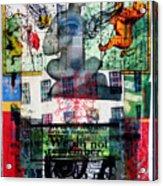 Remember Automatic Recall Acrylic Print by Liz  London