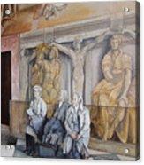 Reposo En El Vaticano Acrylic Print by Tomas Castano