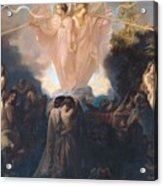 Resurrection Of The Dead Acrylic Print by Victor Mottez
