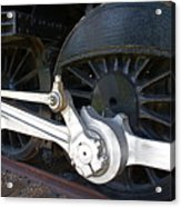 Retired Wheels Acrylic Print by Todd Kreuter