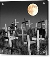 Reverent Moonlight.... Acrylic Print by Al  Swasey