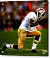 Rg3 - Tebowing Acrylic Print by Paul Ward