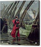 Richelieu Acrylic Print by Henri-Paul Motte