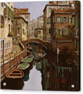 Riflesso Scuro Acrylic Print by Guido Borelli