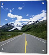 Road To Worthington Glacier Acrylic Print by Bill Bachmann - Printscapes