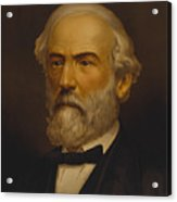 Robert E Lee Acrylic Print by War Is Hell Store