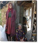Rodopean Women-3 Acrylic Print by Antoaneta Melnikova- Hillman