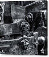 Rods Of Steel Acrylic Print by Scott  Wyatt