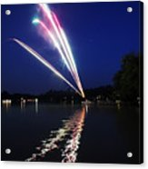 Roman Candle Acrylic Print by Ty Helbach