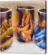 Romanian Vases Acrylic Print by Jeff Kolker