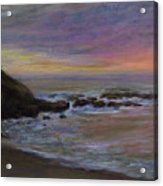 Romantic Shore Acrylic Print by Susan Jenkins