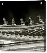 Roof National Palace Museum Taiwan City - Taipei  Acrylic Print by Christine Till
