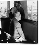 Roosevelt And Churchill Acrylic Print by Granger