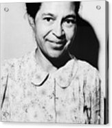 Rosa Parks Was A Member Of The Naacp Acrylic Print by Everett