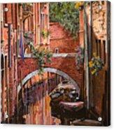 Rosso Veneziano Acrylic Print by Guido Borelli