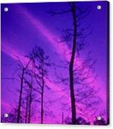 Rosy Fingers Of Dawn Acrylic Print by Gerard Fritz