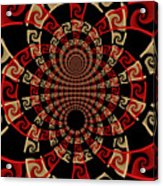 Roulette Sunset Acrylic Print by David April
