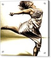 Rubinesque Dancer Acrylic Print by Richard Young
